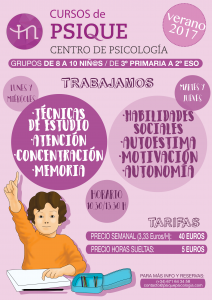 Cursos Psique Verano 2017